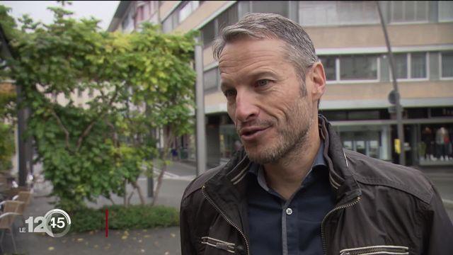 Christophe Clivaz, premier élu valaisan écologiste au Conseil national. [RTS]