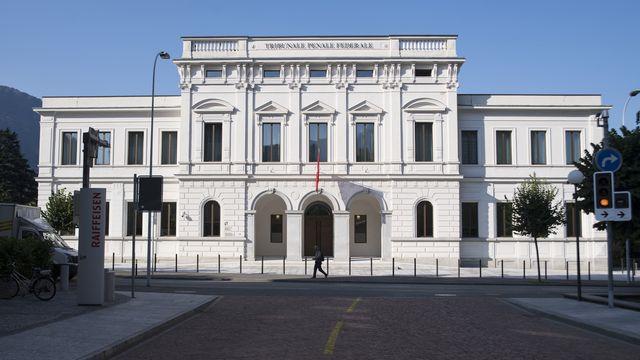 Le Tribunal pénal fédéral à Bellinzone. [Alessandro Crinari - Keystone/Ti-Press]