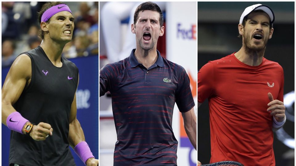 Nadal, Djokovic et Murray seront de la partie. [Szenes/Ota/Schiefelbein - Keystone]