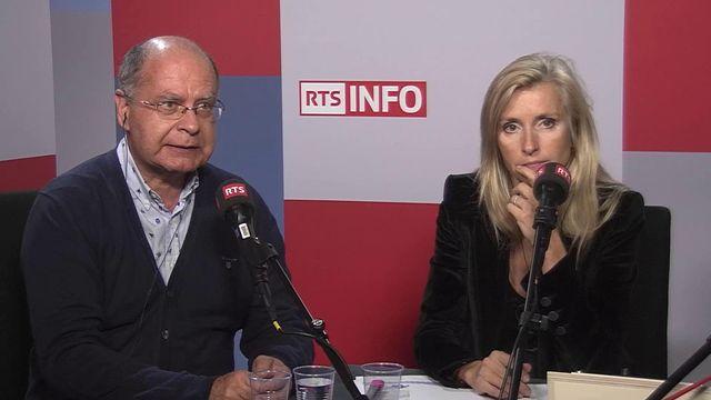 Bertrand Buchs et Bénédicte Montant. [RTS]