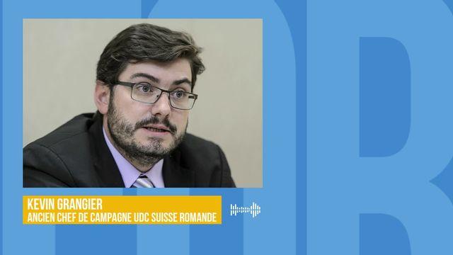 L'UDC romande privée de ses vedettes après les élections fédérales: interview de Kevin Grangier [RTS]
