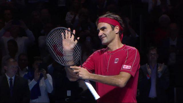 16e de finale: Federer (SUI) - Gojowczyck (ALL) (6-1, 6-2) [RTS]