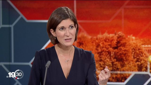Linda Bourget explique que ce choc politique aura une influence, même si l'écologie est minoritaire à Berne. [RTS]