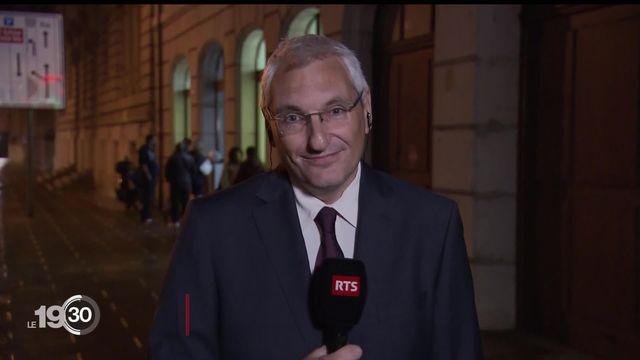 Les enjeux à Genève par Joël Boissard : les partis définissent leur stratégie pour le deuxième tour. [RTS]