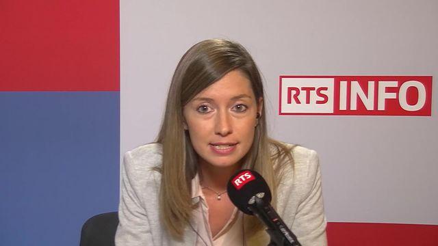 La PLR fribourgeoise Johanna Gapany veut briser la domination du PS et du PDC aux Etat [RTS]