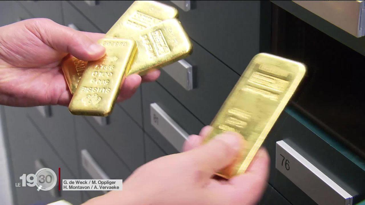 Nouvelle ruée vers l'or chez les investisseurs [RTS]
