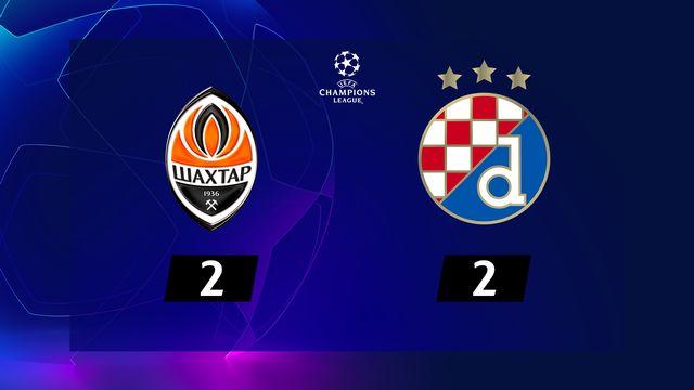 3e j. Gr.C, Shakhtar Donetsk - Dinamo Zagreb (2-2): résumé de la rencontre