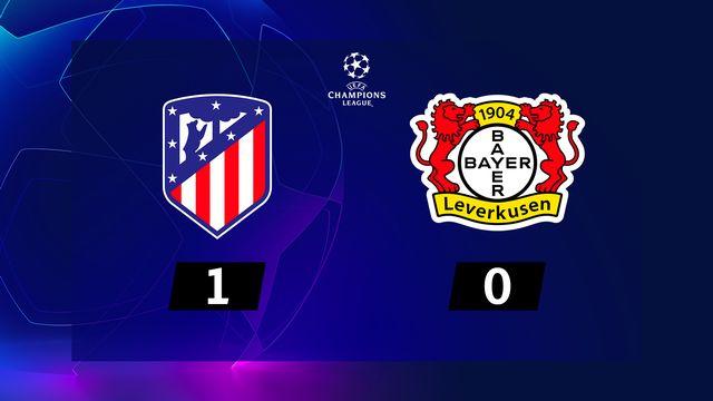 3e j. Gr.D, Atlético Madrid - B. Leverkusen (1-0): résumé de la rencontre