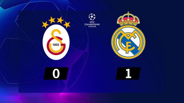 3e j. Gr.A, Galatasaray - Real Madrid (0-1): résumé de la rencontre