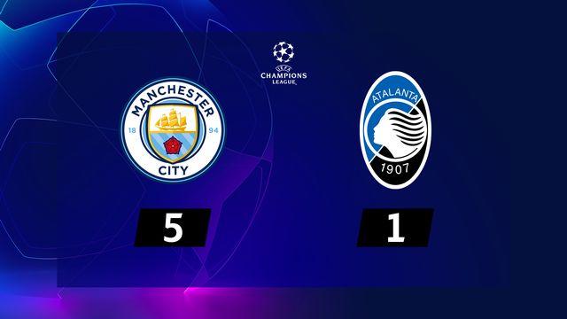 3e j. Gr.C, Man. City - Atalanta (5-1): résumé de la rencontre