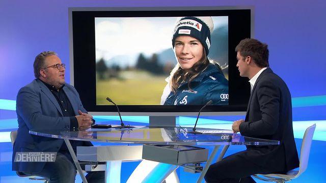 Ski de fond: Nathalie von Siebenthal se retire du sport de haut niveau [RTS]