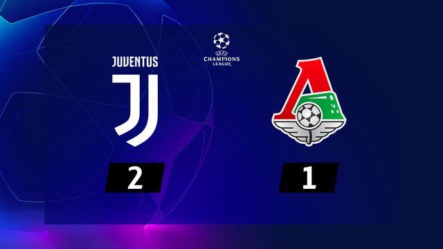 3e j. Gr.D, Juventus - Lok.Moscou (2-1): résumé de la rencontre