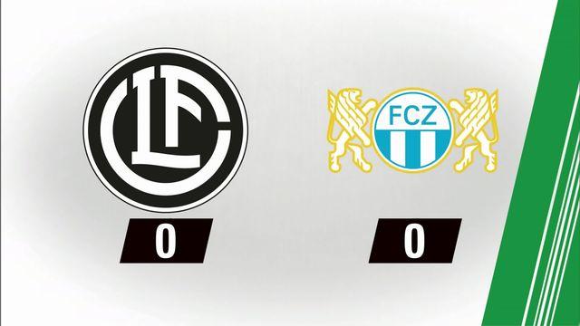 11e journée, Lugano- Zurich (0-0) [RTS]