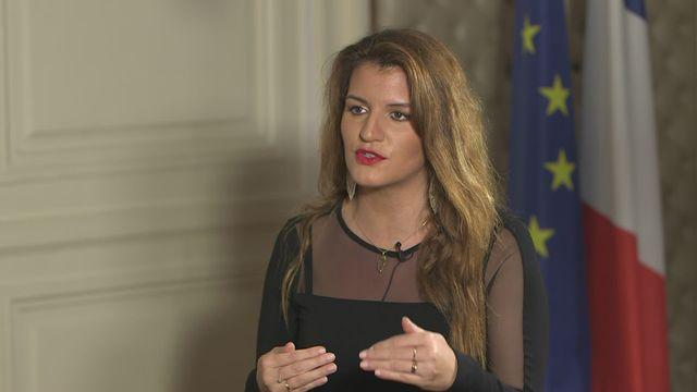 La secrétaire d'Etat française Marlène Schiappa. [RTS]