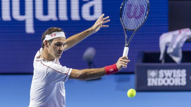 Federer n'a pas laissé la moindre chance à son adversaire. [Georgios Kefalas - Keystone]