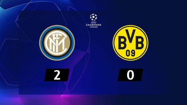 3ème journée, Inter - B.Dortmund (2-0): résumé de la rencontre