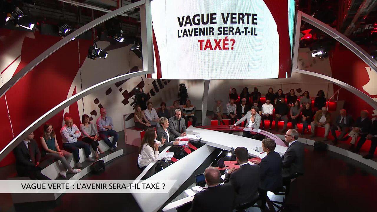 Vague verte: l'avenir sera-t-il taxé? [RTS]