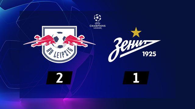 3ème journée, RB Leipzig - Zenit (2-1): résumé de la rencontre
