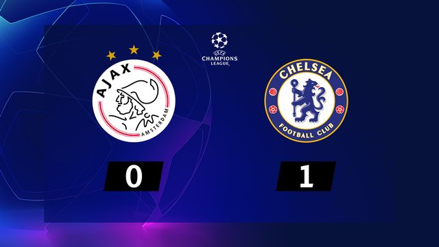 3ème journée, Ajax - Chelsea (0-1): résumé de la rencontre