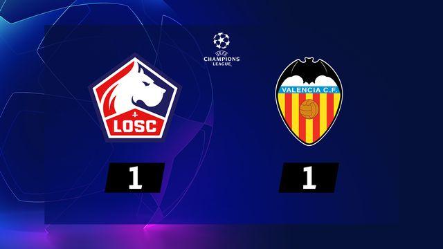 3ème journée, Lille - Valence (1-1): résumé de la rencontre
