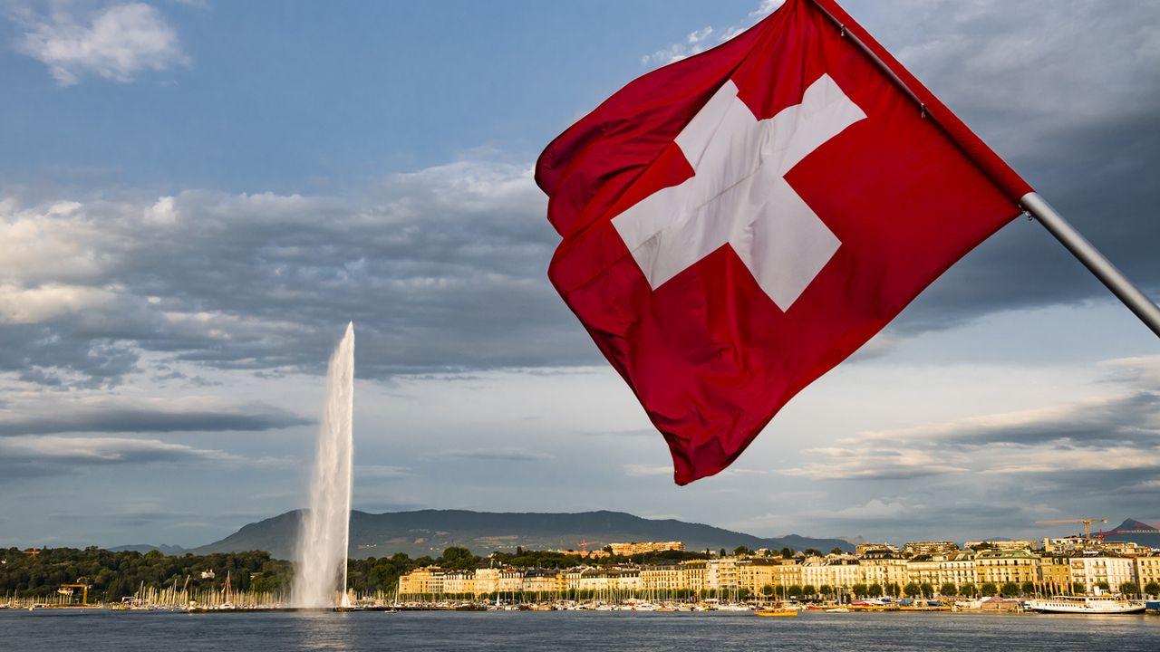 Le risque de récession ne dépasse pas 25% en Suisse. [Jean-Christophe Bott - Keystone]