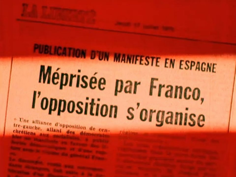 L'après-Franco passionne les journaux suisses aussi, 1975 [RTS]