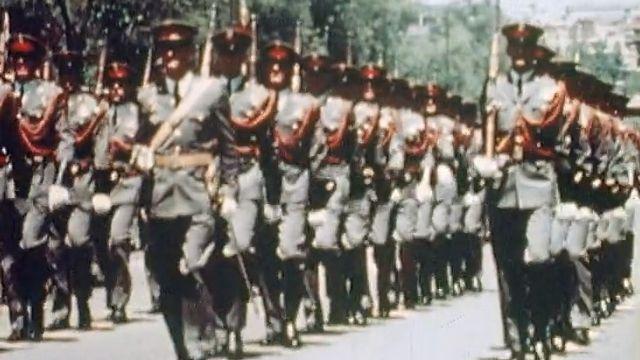 Le pouvoir de l'armée sous Franco. [RTS]