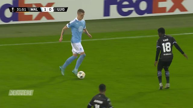 Europa League : Malmoe FF - Lugano, 1-1 [RTS]