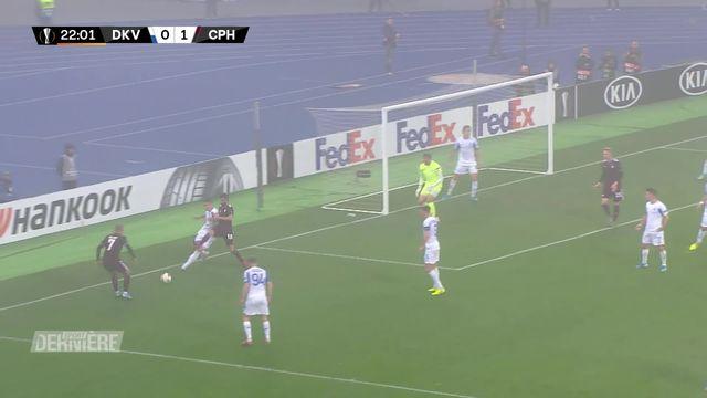 Europa League : Dynamo Kiev - Copenhague, 1 - 1 [RTS]