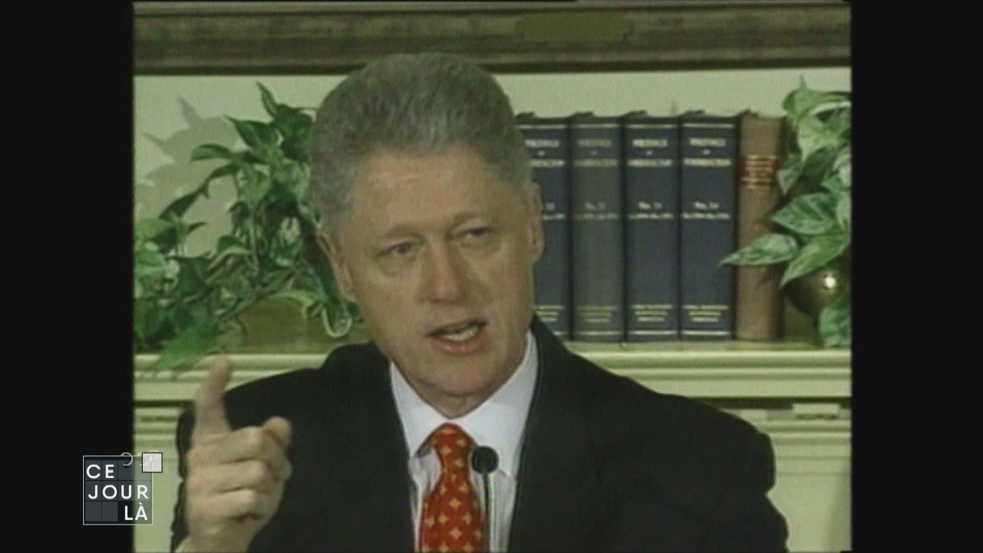 En 1999, Bill Clinton sauvé de l'impeachment par le Sénat