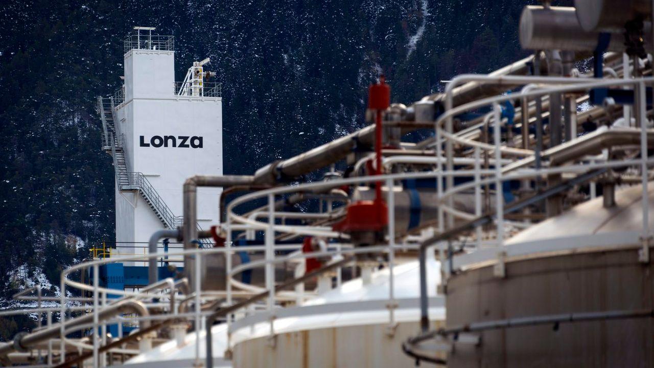 Lonza ne produira plus de chlorure de cyanure à Viège. [Olivier Maire - Keystone]