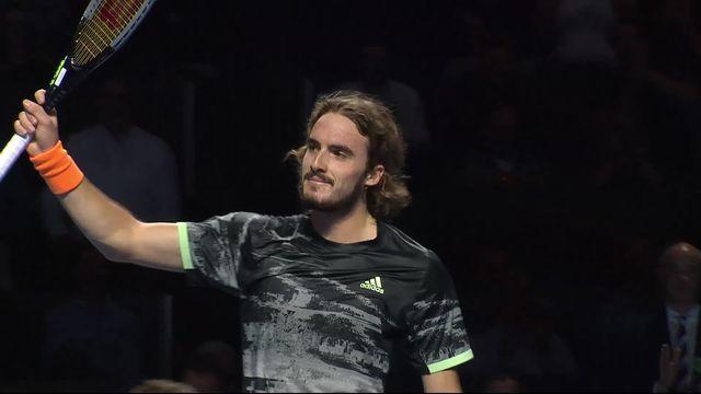 1-4: S.Tsitsipas (GRE) - F.Krajinovic (SRB) (3-6, 6-4, 6-4): Tsitsipas lutte pour rejoindre Federer en 1-2 [RTS]