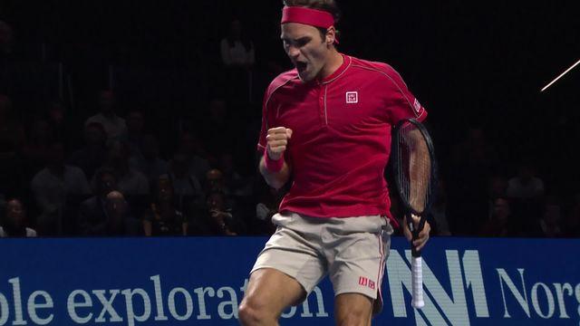 ATP Bâle, 1-2 finale: Federer (SUI) – Tsitsipas (GRE) (6-4, 6-4) [RTS]