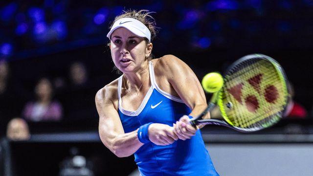 Belinda Bencic s'est effondrée dans les deux derniers sets. [Alex Plavevski - Keystone]