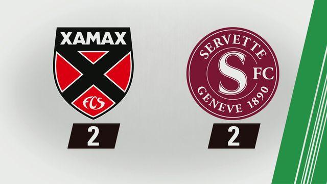 10e journée: Xamax - Genève (2-2) [RTS]