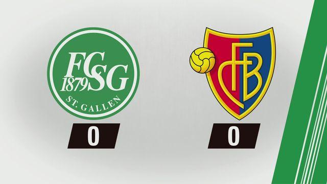 10e journée: St-Gall - Bâle (0-0) [RTS]
