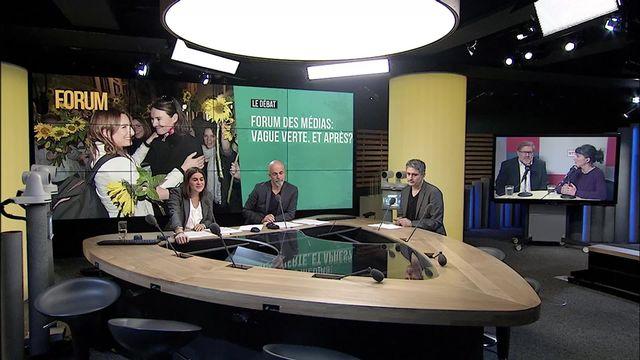 Forum des médias: vague verte, et après? [RTS]