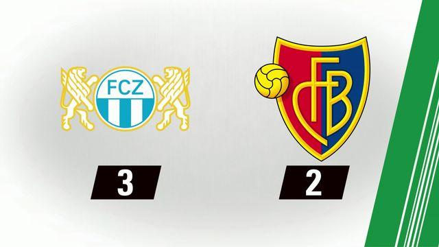 Football: zurich - Bâle (3-2) [RTS]