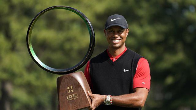 Golf: Tiger Woods remporte son 82e titre PGA, égalant un record vieux de 54 ans