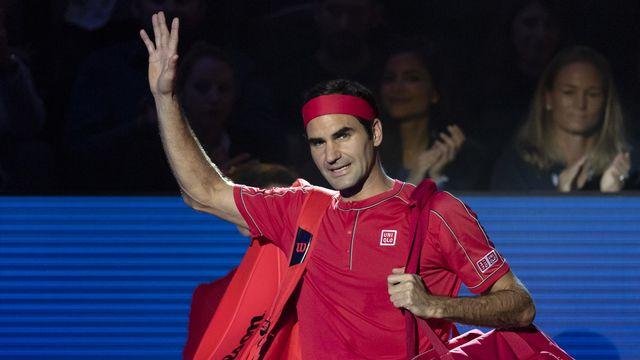 Comme attendu, Federer se ménage en vue du Masters de Londres. [Georgios Kefalas - Keystone]
