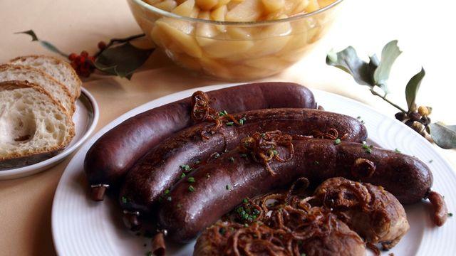 Le boudin, l'un des plats au menu de la Saint-Martin. [Juratourisme]