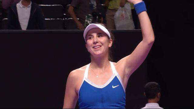 Round Robin: P.Kvitova (CZE) - B.Bencic (SUI) (3-6, 6-1, 4-6): Bencic peut encore rêver des 1-2! [RTS]