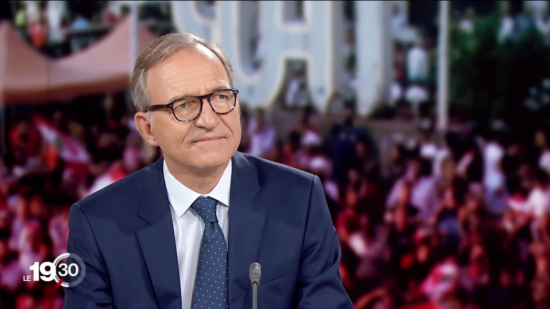 "Jean-Philippe Schaller ""Le mouvement social ne supporte plus la corruption au sommet de l'Etat ou la restriction de démocratie."""