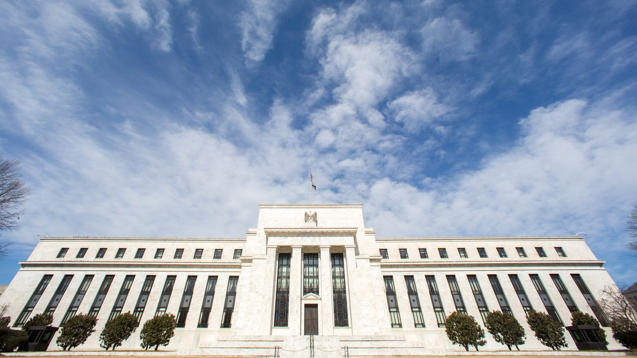 La banque centrale américaine à Washington. [J. David Ake - Keystone/ap photo]