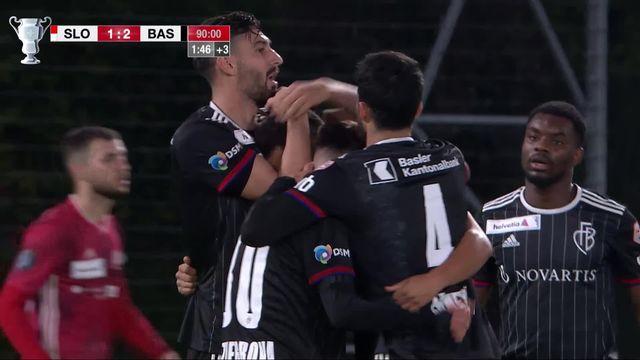1-8, Stade Lausanne Ouchy - Bâle (1-2): défaite cruelle pour les Lausannois qui s'inclinent à la 92ème minute [RTS]
