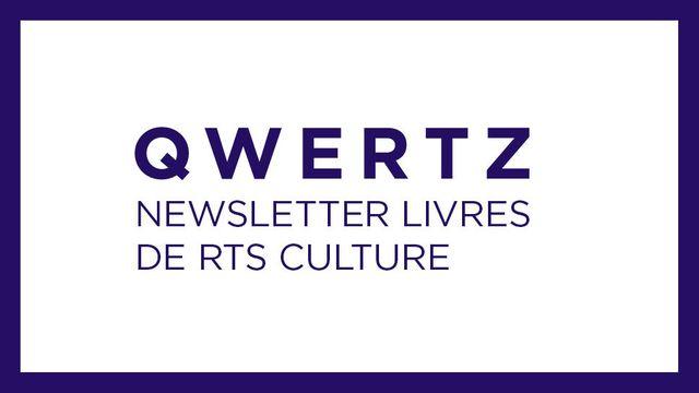 Le logo de Qwertz, la newsletter livres de RTSCulture. [RTS]