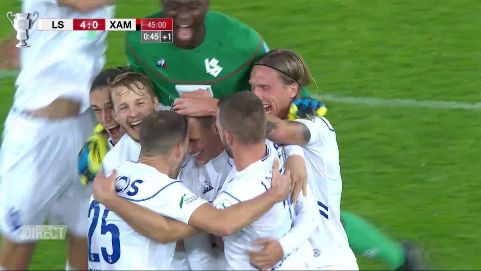 1-8, Lausanne - NE Xamax (6-0): Lausanne corrige Xamax et passe en 1-4 [RTS]
