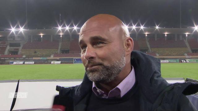 1-8, Lausanne - NE Xamax (6-0): Contini à l'interview [RTS]