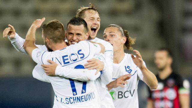 Les Vaudois affronteront le FC Bâle en quarts. [Laurent Gillieron - Keystone]