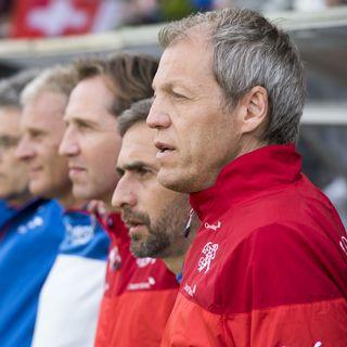 Reto Gertschen (à droite) est le responsable de la formation des entraîneurs à l'ASF. [Urs Flueeler - Keystone]